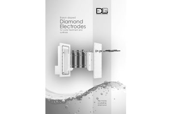 brochure for diamond electrodes and electrolysers